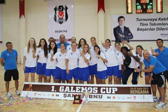 1. Galenos Cup şampiyonu Botaş