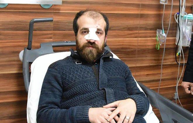 10 kişilik grup doktora saldırdı, esnaf kurtardı