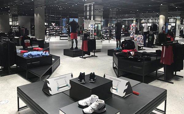1000 m2'lik en büyük Nike mağazası ANKAmall'da…