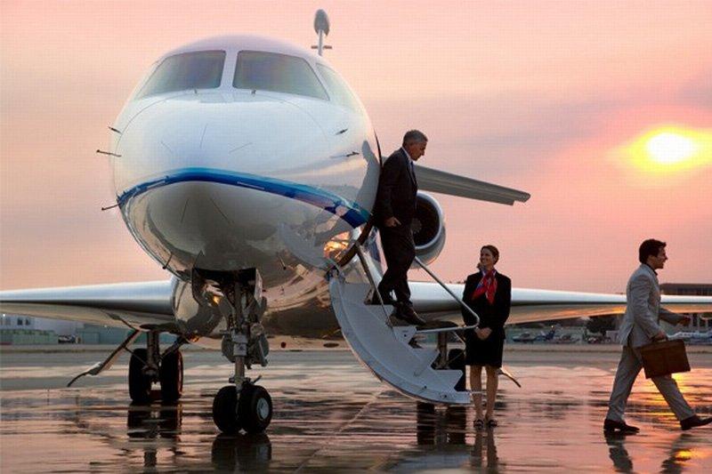110 Patronun Özel Uçağı Var