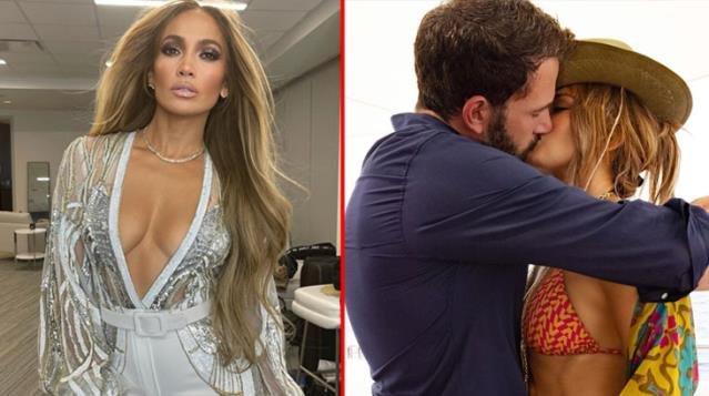 17 yıl sonra Ben Affleck ile öpüşme pozunu paylaşan Jennifer Lopez beğeni topladı