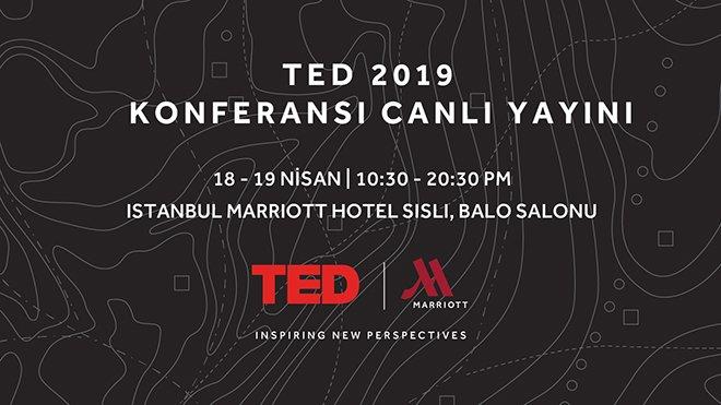 2019 TED Konferansı Marriott Şişli'de