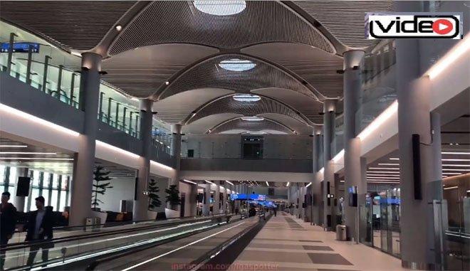 3. Havalimanı açılışı bekliyor!video