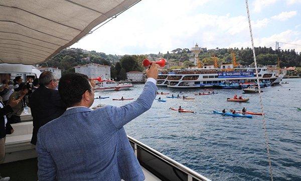 32'inci kez düzenlenen Boğaziçi Kıtalararası Yüzme Yarışı