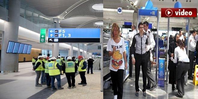 3.Havalimanına güvenlik alımları devam ediyor!