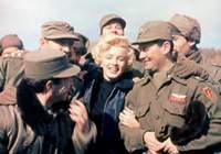 Marilyn Monroe, Türk Askerleriyle!
