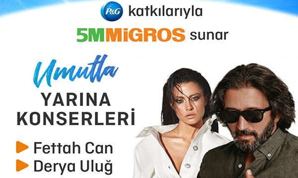 5M Migros Yaz Konserleri Başlıyor