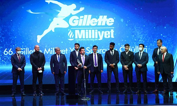 66. Gillette Milliyet Yılın Sporcusu Ödülleri(video)
