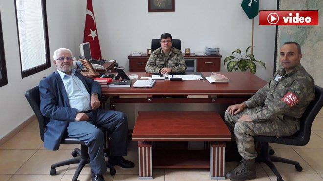 69 yaşında Zeytin Dalı Harekatı'na katılmak istedi!video