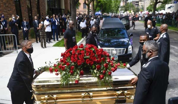 ABD'de George Floyd için cenaze töreni düzenlendi
