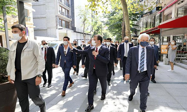 Abdi İpekçi Caddesi ve Meydanı, hizmete açıldı.