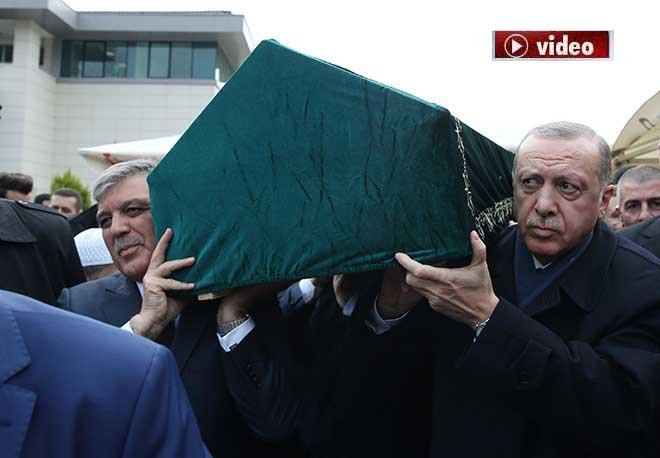 Abdullah Tivnikli son yolculuğuna uğurlandı!video