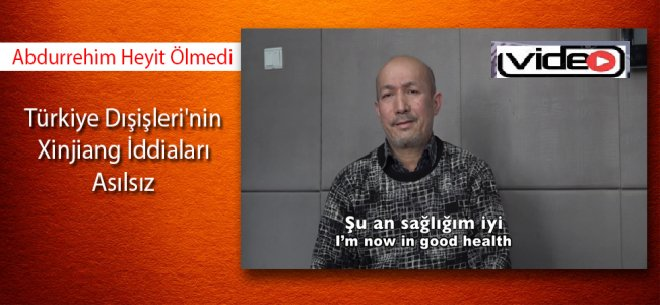 Abdurrehim Heyit ölmedi!video