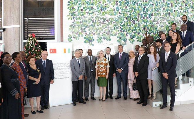 Abidjan Havalimanı'ndaki Dostluk Panosu açıldı!
