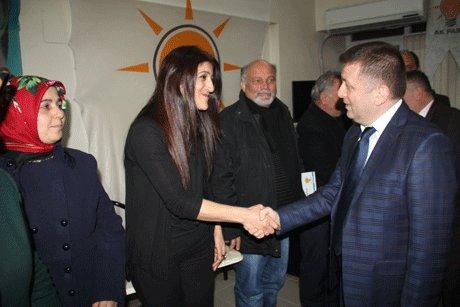 Aday Adayı Esvet Sarıoğlu'dan teşkilatlara ziyaret