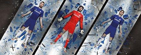 adidas, Chelsea Futbol Kulübü'nün yeni sezon formalarını lanse etti.