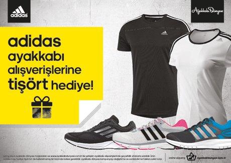 adidas'tan Ayakkabı mağazalarına özel kampanya!