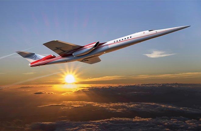 Aerion'ın AS2'si pazardaki ilk süpersonik business jet olacak