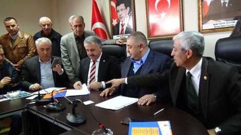Ahmet Arslan ile Yunus Kılıç,Milletvekili aday adayı