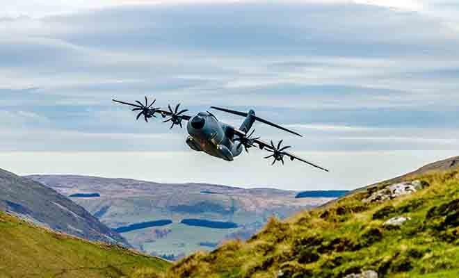 Airbus A400M Otomatik Alçak Seviye Uçuş Sertifikası