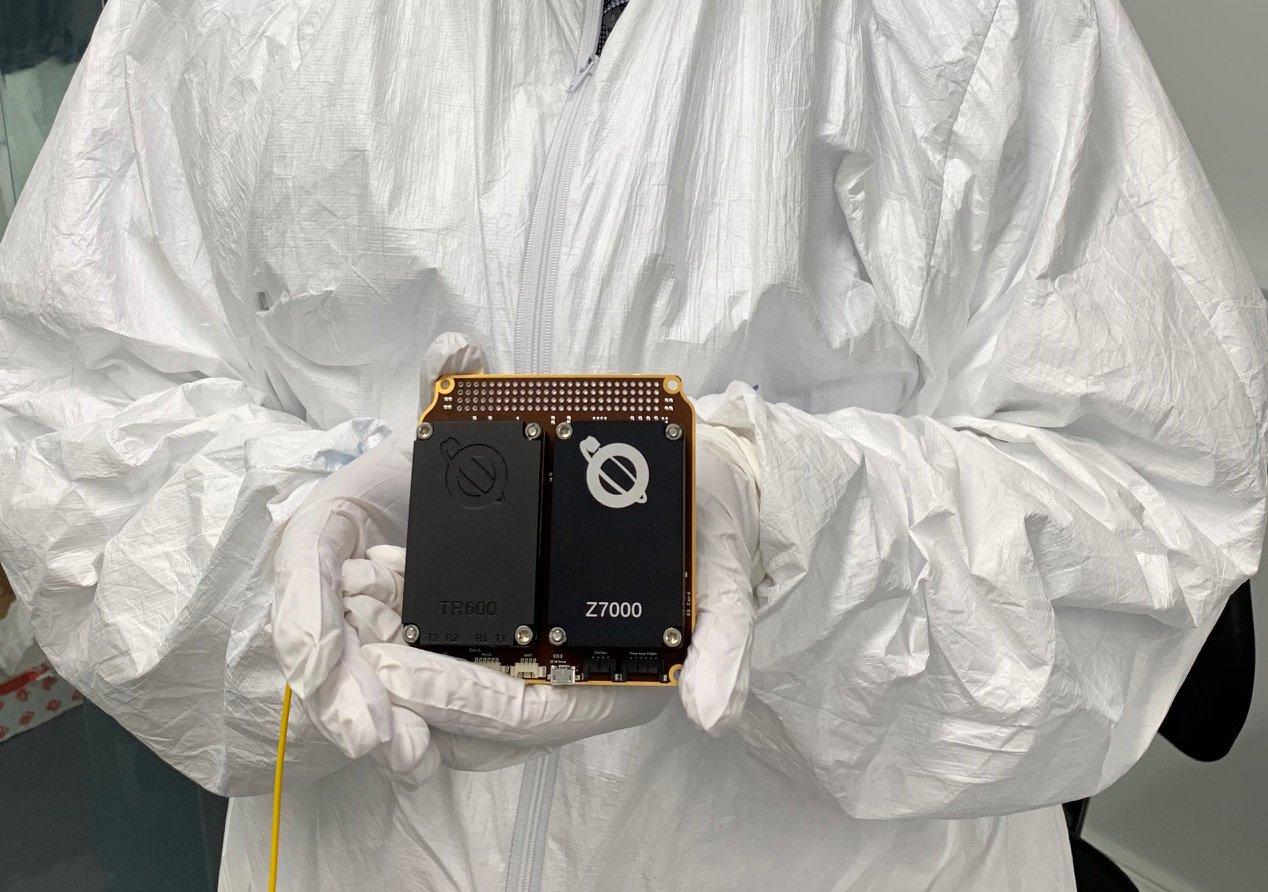 Airbus Faraday-1 Uydusu Üzerinde (girişimci) Yükü Kullanacak