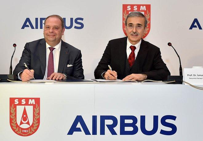 Airbus Türkiye'den 7 milyar dolarlık alım yapacak