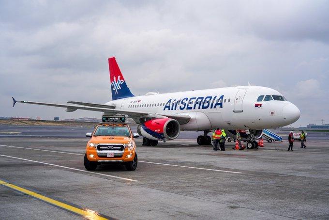 AirSerbia FlyService ile Türkiye'de....