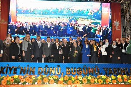 AK Parti Antalya Kadın Kolları Kongresi