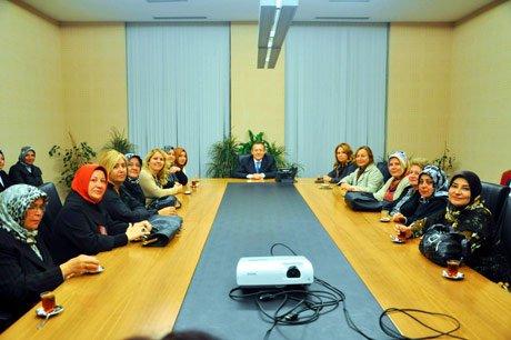 AK Parti Balıkesir İl Kadın Kolları Başkent'de