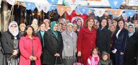Ak Parti Bünyan Kadın Kolları'na Paksoy Seçildi