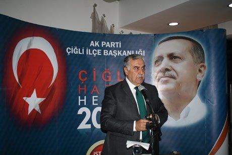 AK Parti Çiğli'de Toplumla Buluştu