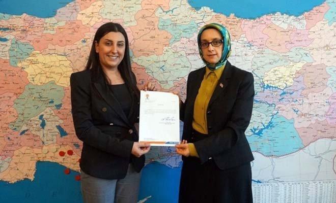 AK Parti Çorlu Kadın Kolları Başkanı Yılmaz oldu
