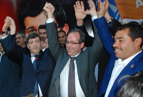 AK Parti Diyarbakır İl Başkanlığı'nda Akar dönemi