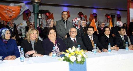 AK Parti Eskişehir Kadın Kolları kongresi yapıldı