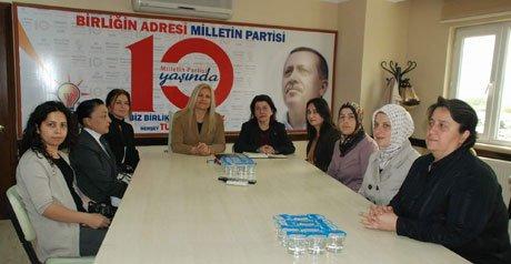 AK Parti İzmit İlçe Kadın Kolları