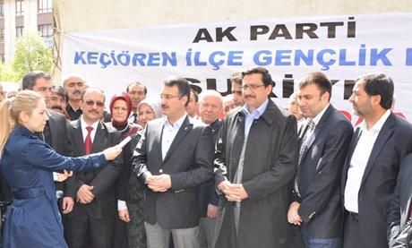 AK Parti Keçiören'den Suriyeli sığınmacılara yardım