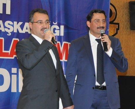 AK Parti Keçiören'de seçim startını verdi…
