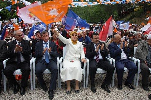 Ak Parti milletvekili adaylarının seçim çalışmaları sürüyor