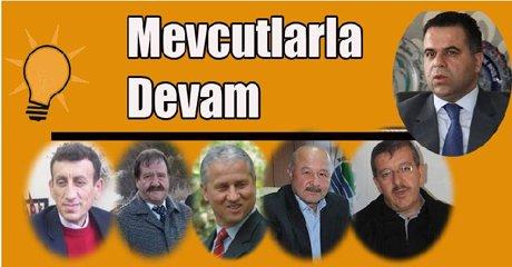 AK Parti'nin Karabük adayları