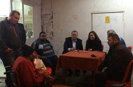 AK Partili Hotar Romanlarla buluştu