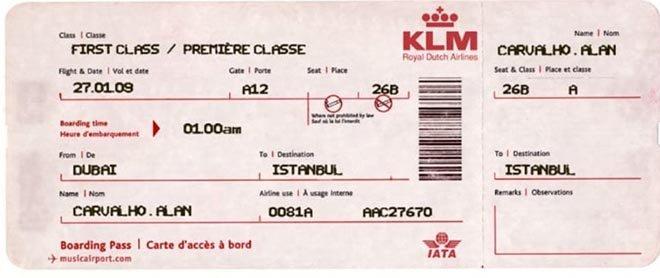 Alan Carvalho'nın Uçak bileti sahte çıktı!