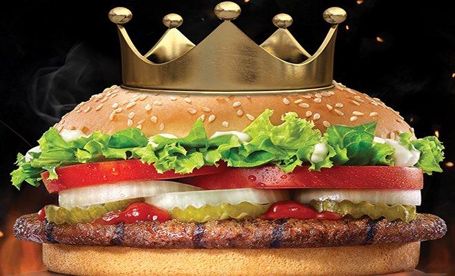 Alevde ızgara ateşinin kralı Burger King