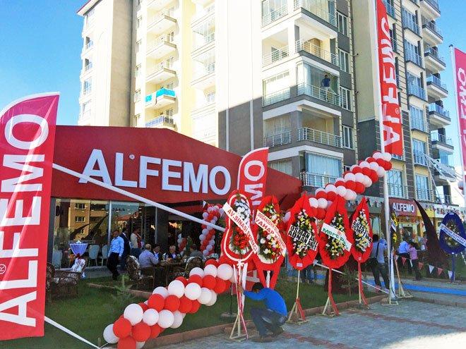 Alfemo'dan 1 günde 2 Mağaza...