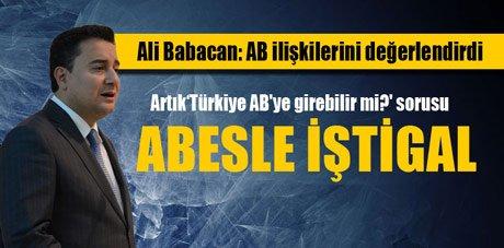 Ali Babacan, 'Ekonomimiz sağlam'