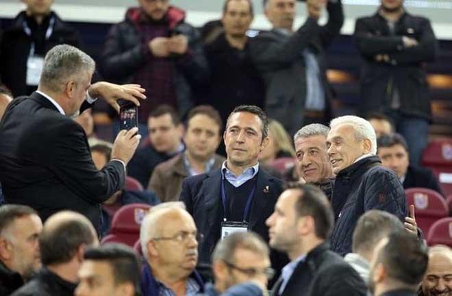 Ali Koç Trabzon'a giden ilk Fenerbahçe Başkanı