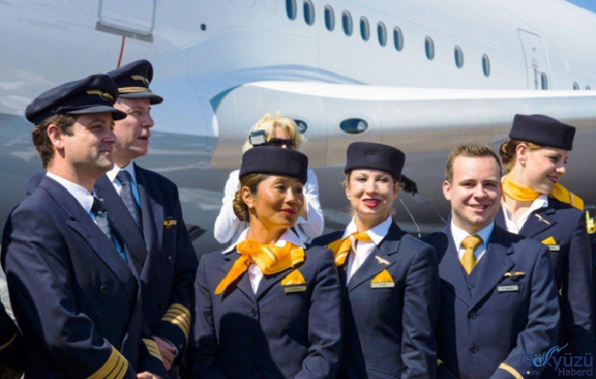 Alman Hava Yolu  Lufthansa 1100 Pilot ile yollarını ayırıyor