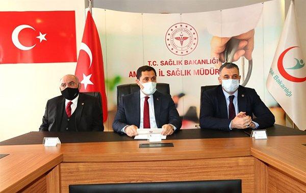 Amasya'ya 600 yataklı şehir hastanesi(video)