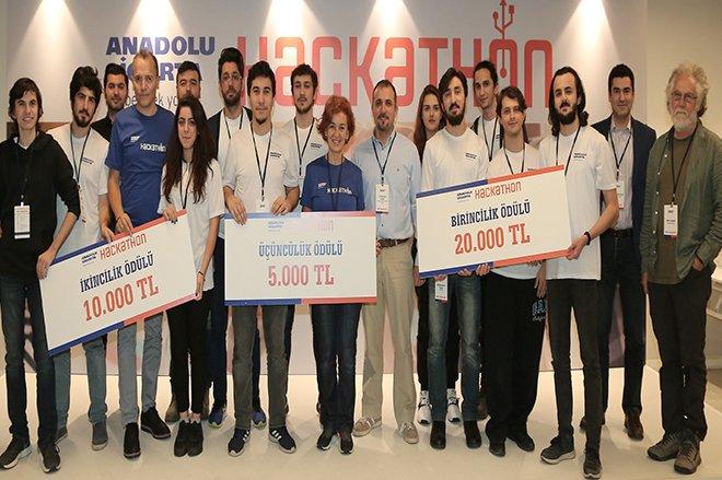 Anadolu Sigorta Hackathon'da Yarıştı