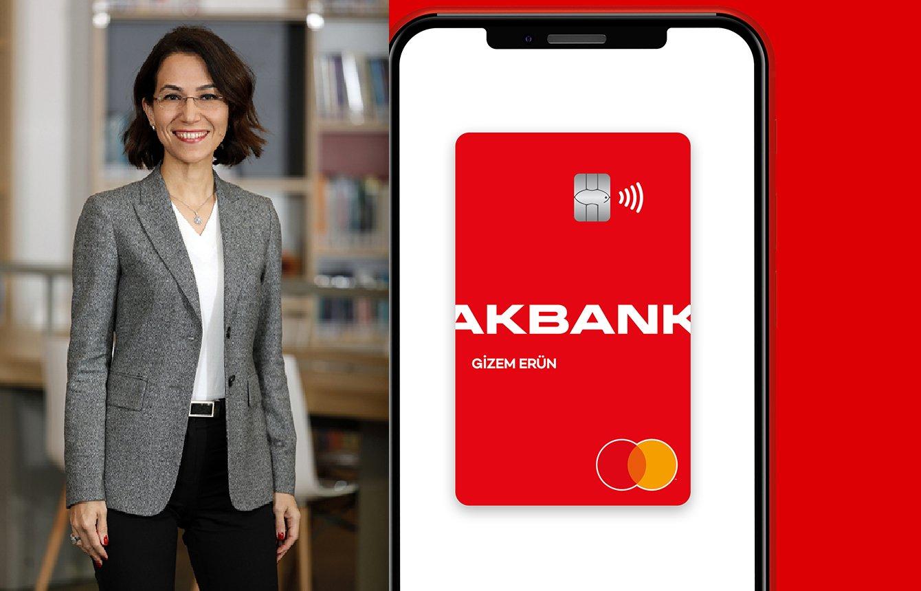 Anında cebe inen Akbank Kart kazandırıyor!