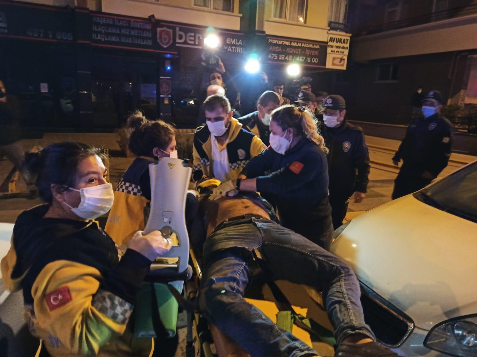 Ankara'da iki otomobil çarpıştı: 1'i ağır, 5 yaralı